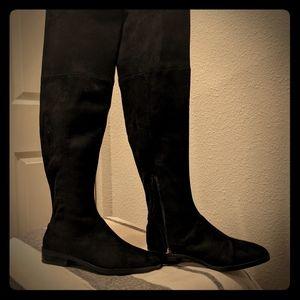 Zara OTK Black Boots 8